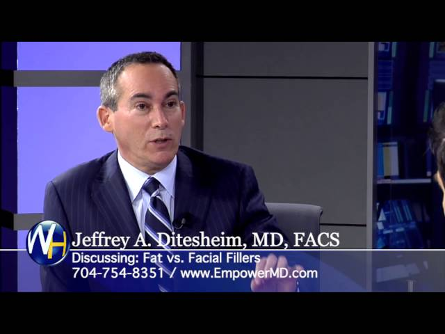 Fat vs. Facial Fillers with Charlotte, NC Plastic Surgeon Jeffrey Ditesheim, MD