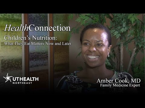 Children's Nutrition: What They Eat Matters Now and Later
