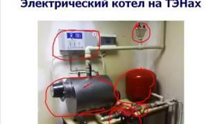 Какой выбрать электрокотел? Видео обзор электрических котлов