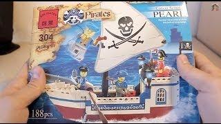 Brick Pirates 304 (Пиратский корабль)