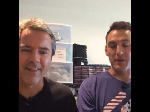 Dr. Patrick Vickers and Chris from Chris beat cancer answering questions Live on Facebook