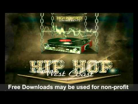 HIGH POWERED Instrumental (Dr. Dre style west coast beat) Sinima Beats