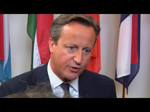 David Cameron warns Vladimir Putin over Ukraine