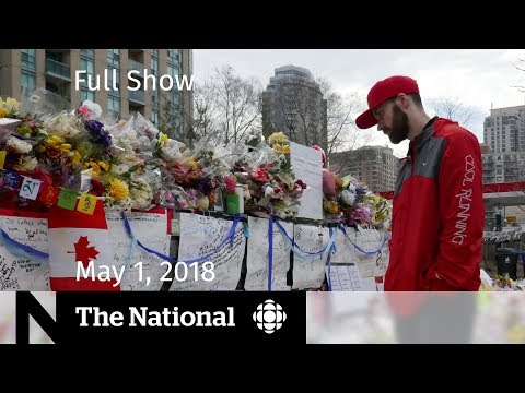 The National for Tuesday May 1, 2018 — Facebook, Toronto Funerals, Mueller Questions