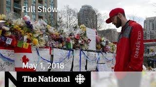 The National for Tuesday May 1, 2018 - Facebook, Toronto Funerals, Mueller Questions