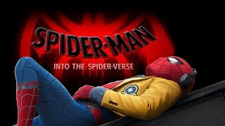 Spide-Man Homecoming - (SPIDER-MAN: INTO THE SPIDER-VERSE Style)