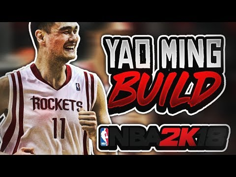 NBA2K18 YAO MING ARCHETYPE FOR MYCAREER |  THE UNSTOPPABLE GREAT WALL | NEVER GET SCORED ON AGAIN!