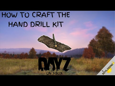 How To Craft The Hand Drill Kit | DayZ On Xbox