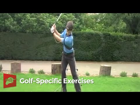 Golf exercise – Lateral hip sway