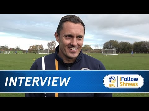 INTERVIEW | Paul Hurst pre Rotherham - Town TV