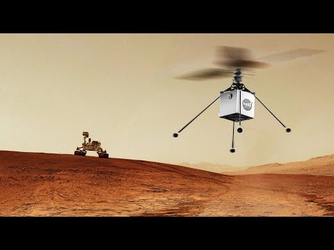 (Cambo-Space) នេះជាឧទ្ធម្ភាគចក្រ NASA ត្រៀមយកទៅភពអង្គារ!