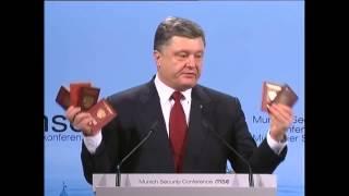 Российские паспорта и военные билеты которые собрали с поля боя президент Украины показал всему миру