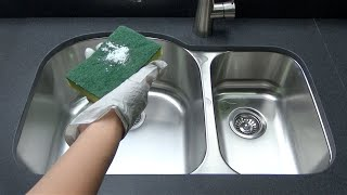 How to maintain your stainless steel sink