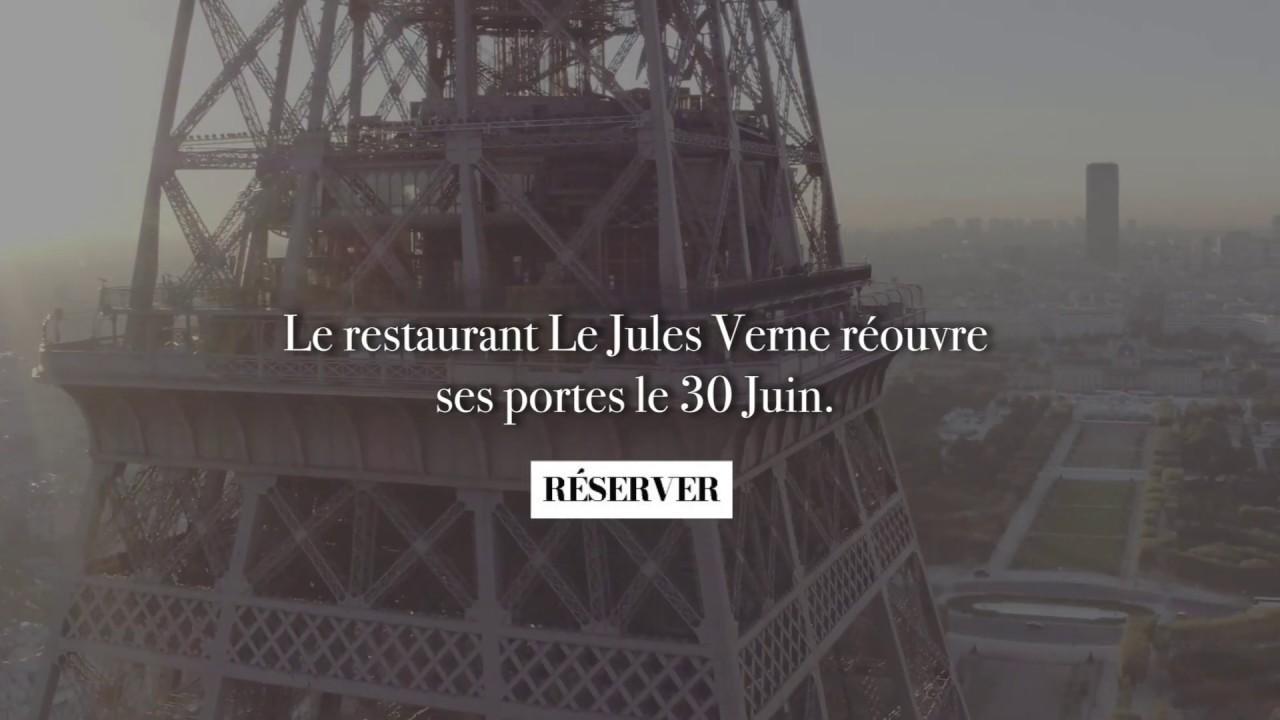 Réouverture du restaurant Le Jules Verne