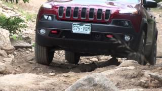 Climbing the Twin Cone Peak, Colorado - Jeep Cherokee KL