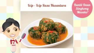Dapur Umami - Buntil Daun Singkong Masako