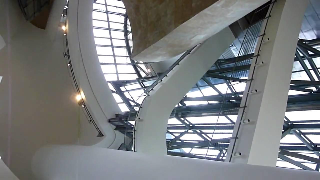 Guggenheim Museum In Bilbao Interior Youtube