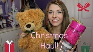 Christmas Haul! Thumbnail