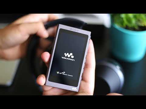 Quick unboxing of Sony Walkman NW-A45