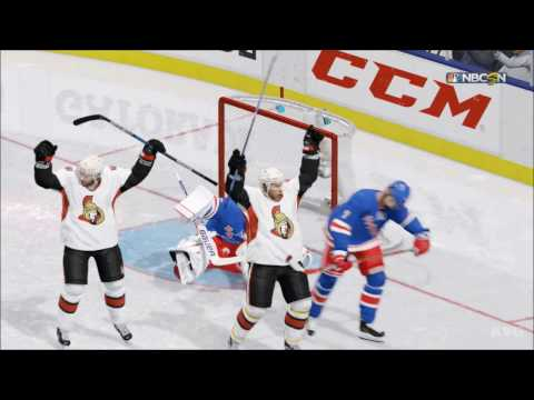 NHL 17 - Ottawa Senators vs Chicago Blackhawks | Gameplay (HD) [1080p60FPS]