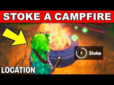 Stoke A Campfire *LOCATION* Winterfest Challenges (Fortnite)