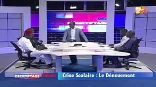 DÉCRYPTAGE DU 02 MAI 2018 AVEC PAPE ALÉ NIANG - CRISE SCOLAIRE : LE DÉNOUEMENT