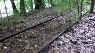 Hiking Red Rail Trail at Lake Roland Park (Formally Robert E. Lee Park) (HD UNCUT)