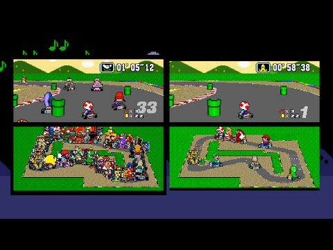 MarioKart With 101 Players: Before The Added Stuff!