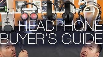 Headphone Buyer's Guide On-Ear vs Over-Ear vs Earbuds