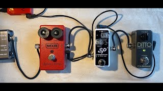 Acoustic Guitar with Compressor Pedal ( MXR Dyna & Xotic SP )