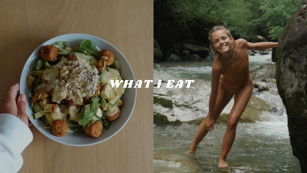 What I Eat In a Day To Feel Good | simple, intuitive, vegan