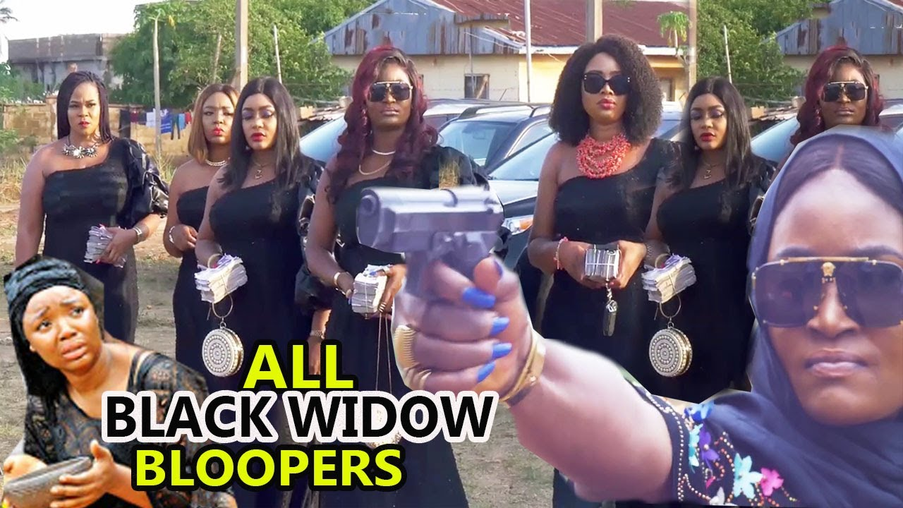 Download ALL BLACK WIDOW BLOOPERS3&4{NEW HIT MOVIE} CHIZZY ALICHI  2021 LATEST NIGERIAN  NOLLYWOOD NOLLYMAXTV Mp4