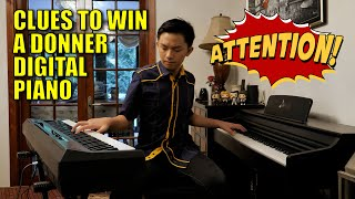 Review: Donner DEP-10 Digital Piano & Clues to Win Donner Digital Piano / Nintendo Switch | Cole Lam