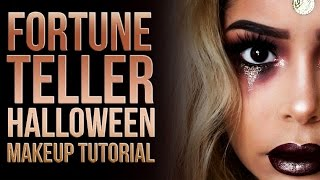 Halloween Series: Fortune Teller Makeup Tutorial