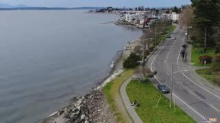 Aerial View Near Alki
