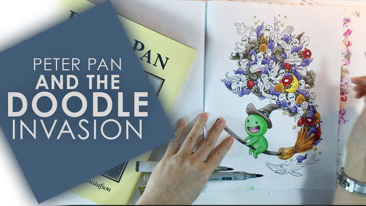 Peter Pan And The Doodle Invasion