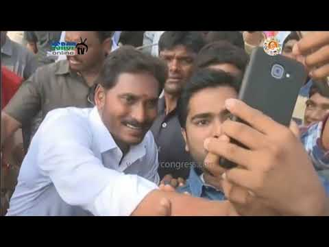 YS Jagan Prajasankalpayatra visuals on 63rd Day in Chittoor District - 16th Jan 2018