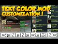 CS:GO - TEXT COLOR MOD V1