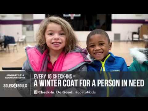 Check-in at Memphis Judo & Jiu-Jitsu and help give Winter Jackets to those in need.