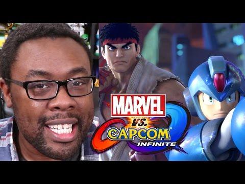 MARVEL vs CAPCOM INFINITE - Will X-MEN Be in the Game? #MVCI