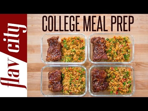 Meal Prep For A College Student – Meal Prepping