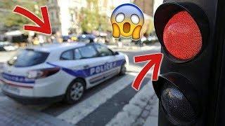 LA POLICE GRILLE UN FEU ROUGE 😲 !! ► Daily Observation N°9 ◄