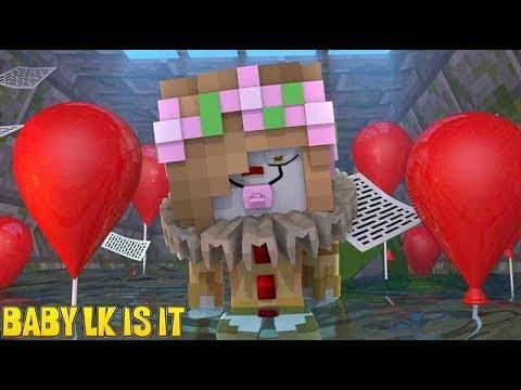 BABY LITTLE KELLY IS IT THE CLOWN! | Minecraft Little Kelly