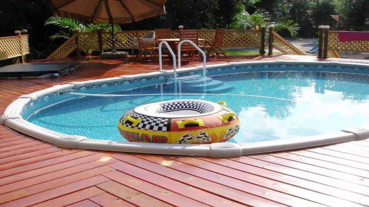 Simple Swimming Pool Designs - YouTube