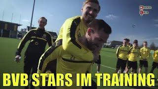 Kult Tuchel veräppelt echte BVB Stars beim Training | Teil 1