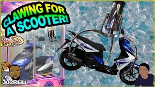 Game | WIN A 50CC MOPED SCOOTER AT THE ARCADE CLAW CRANE MACHINE | WIN A 50CC MOPED SCOOTER AT THE ARCADE CLAW CRANE MACHINE
