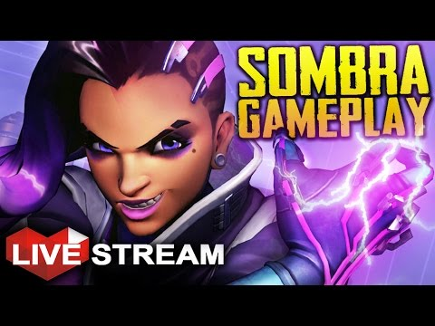 Overwatch Sombra Gameplay | BEST PATCH EVER! | Live Stream 60fps