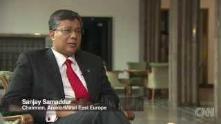 Sanjay Samaddar, prezes Zarządu ArcelorMittal Poland, dla CNN