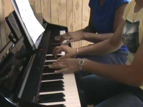 Brian McKnight- Anytime ..Piano DUET!!