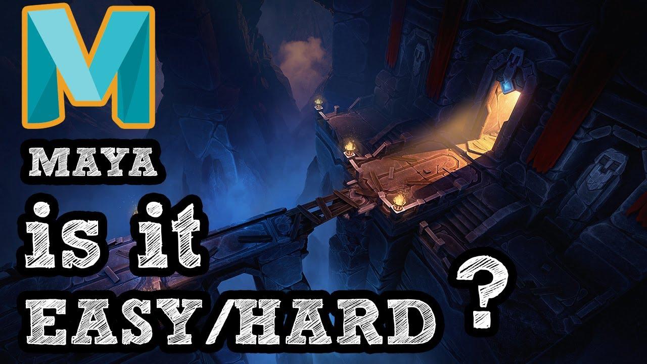 is Autodesk Maya Hard to Learn?